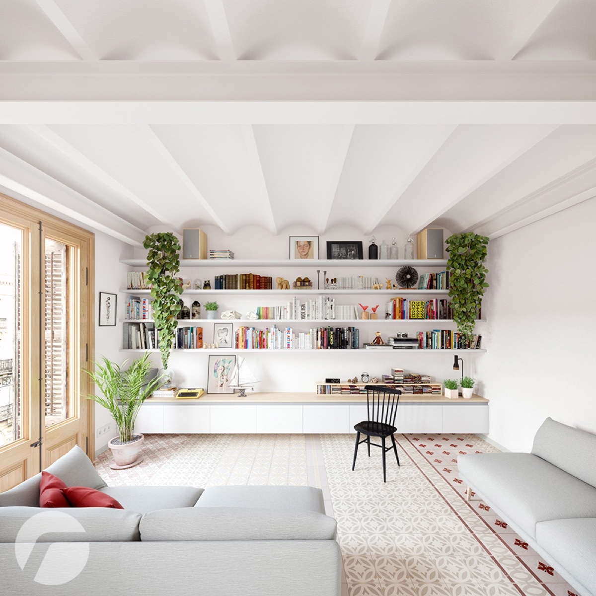 10 stunning apartments that show off the beauty of nordic for Stunning interior designs