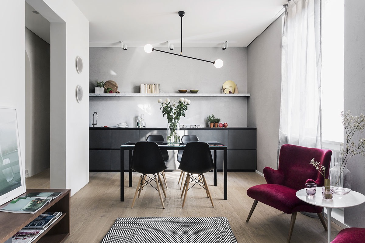 32 more stunning scandinavian dining rooms for Modelos de comedores