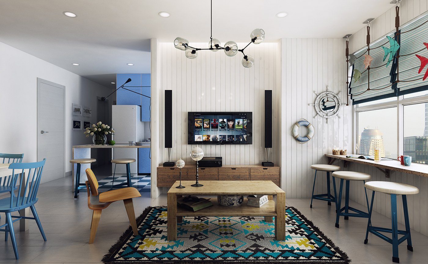 Nautical Scandinavian Decor Ideas - 10 stunning apartments that show off the beauty of nordic interior design