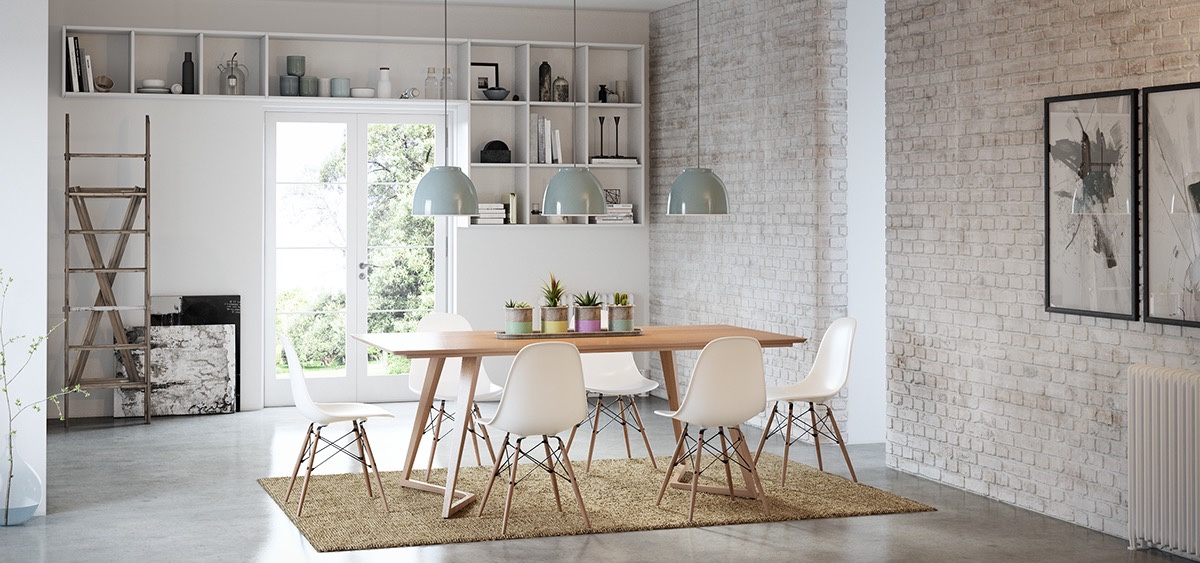 Pastel Dining Room Theme - Dining rooms that mix classic and ultra modern decor