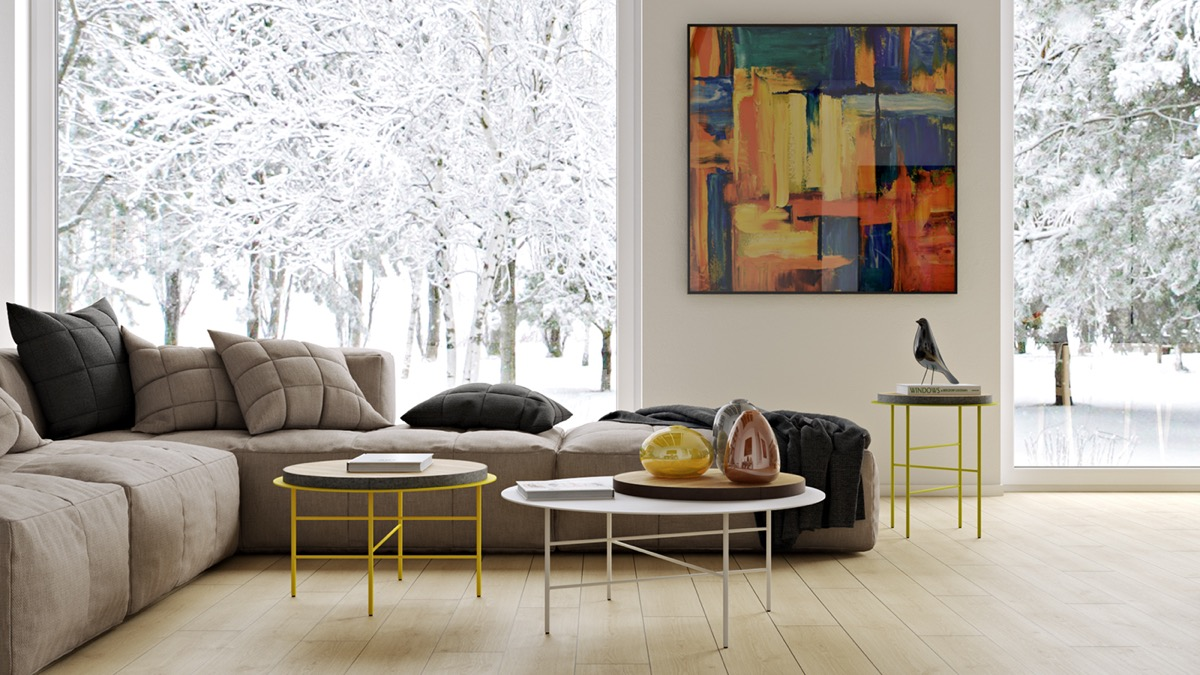 Large wall art for living rooms ideas inspiration for Contemporary wall art for living room