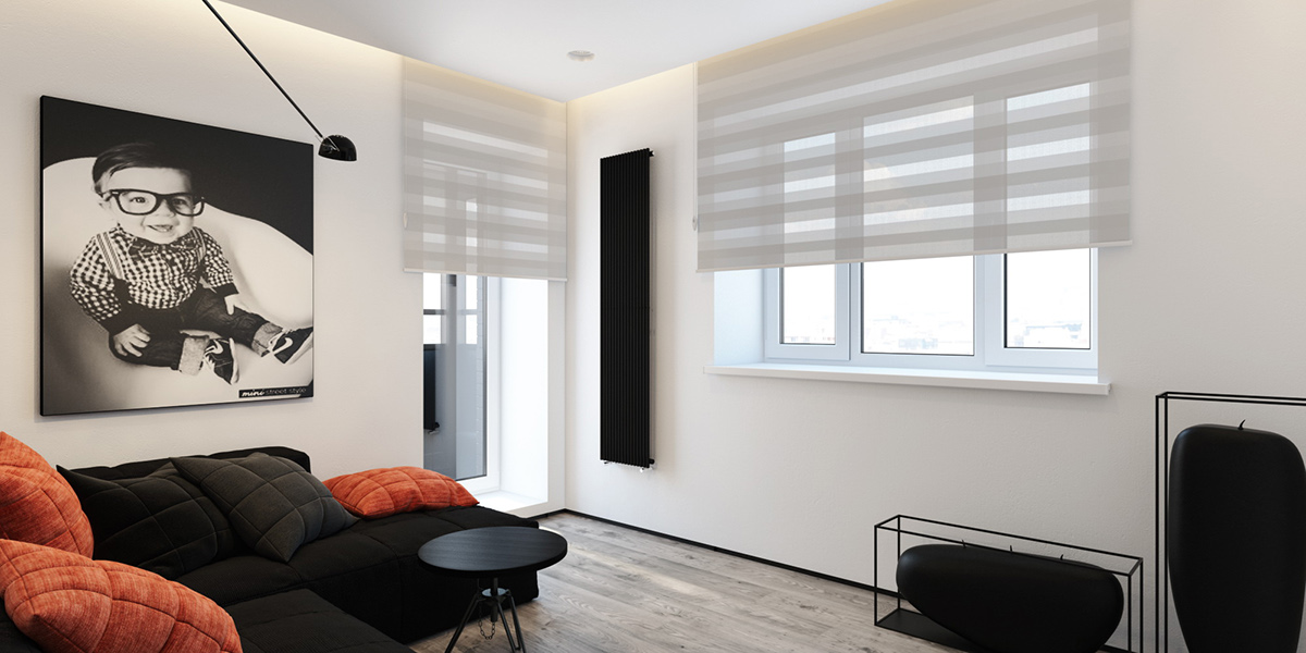 Quirky Interior Color Themes - 6 perfectly minimalistic black and white interiors