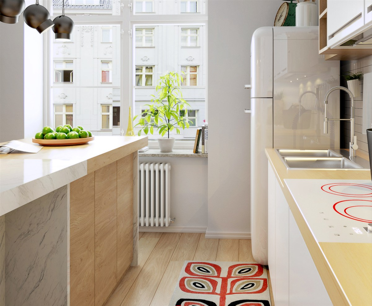 Red Scandinavian Decor - 10 stunning apartments that show off the beauty of nordic interior design