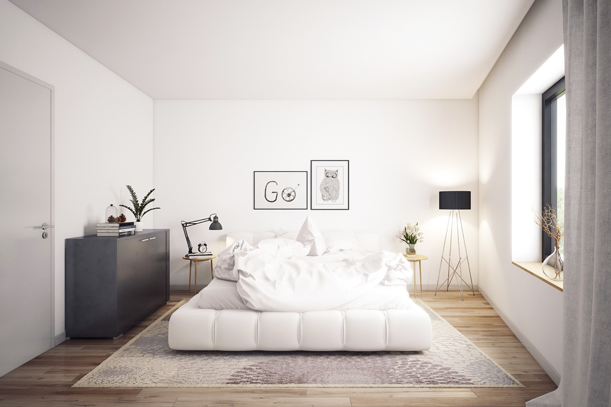 Simple and Beautiful Scandinavian Bedroom Decor Ideas