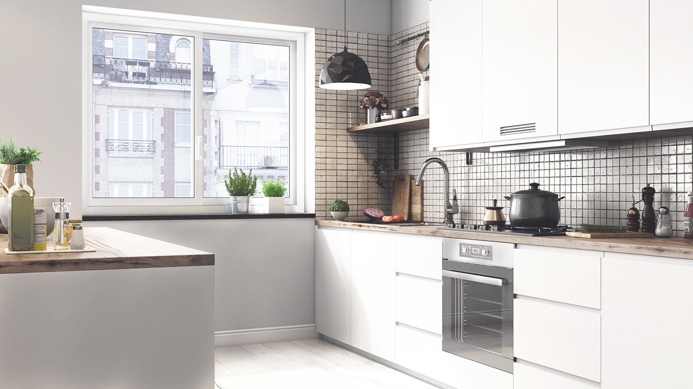 Simple Scandinavian Kitchen - 10 stunning apartments that show off the beauty of nordic interior design