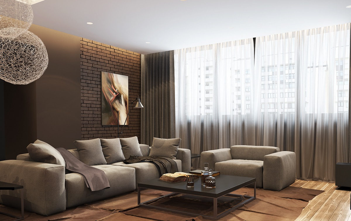 5 living rooms with signature lighting styles for Living room lighting ideas