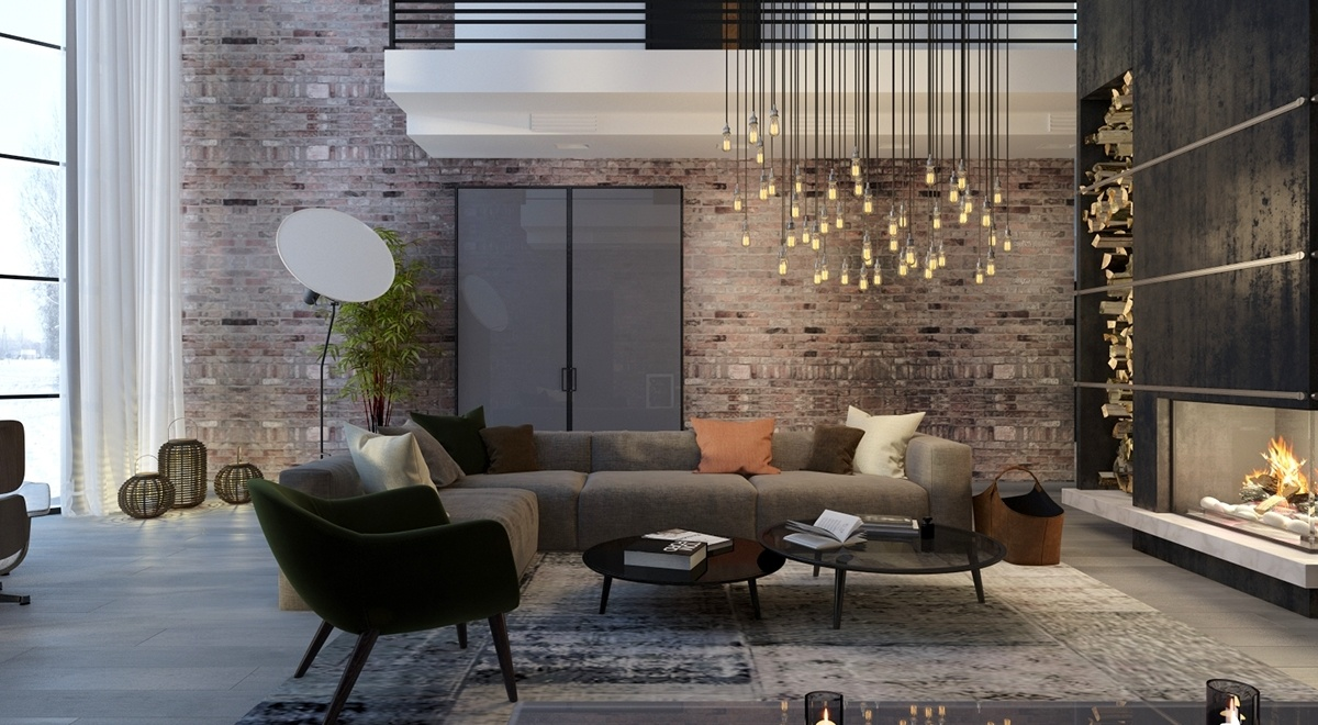 5 living rooms with signature lighting styles for Different living room styles