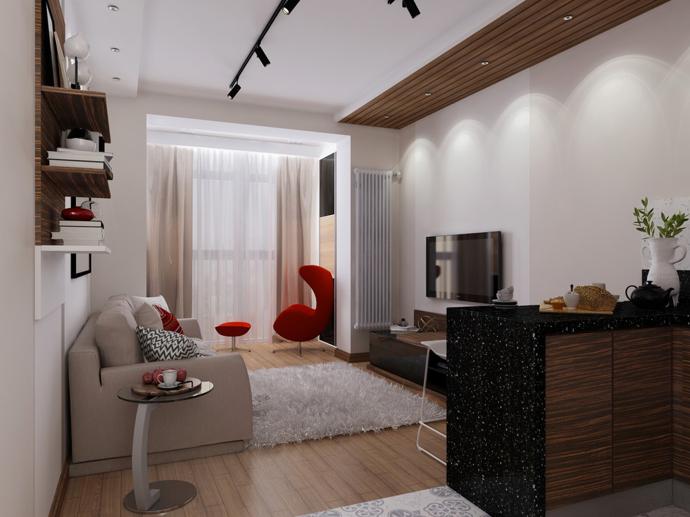 4 super tiny apartments under 30 square meters includes floor plans - Idee deco studio 30 m2 ...