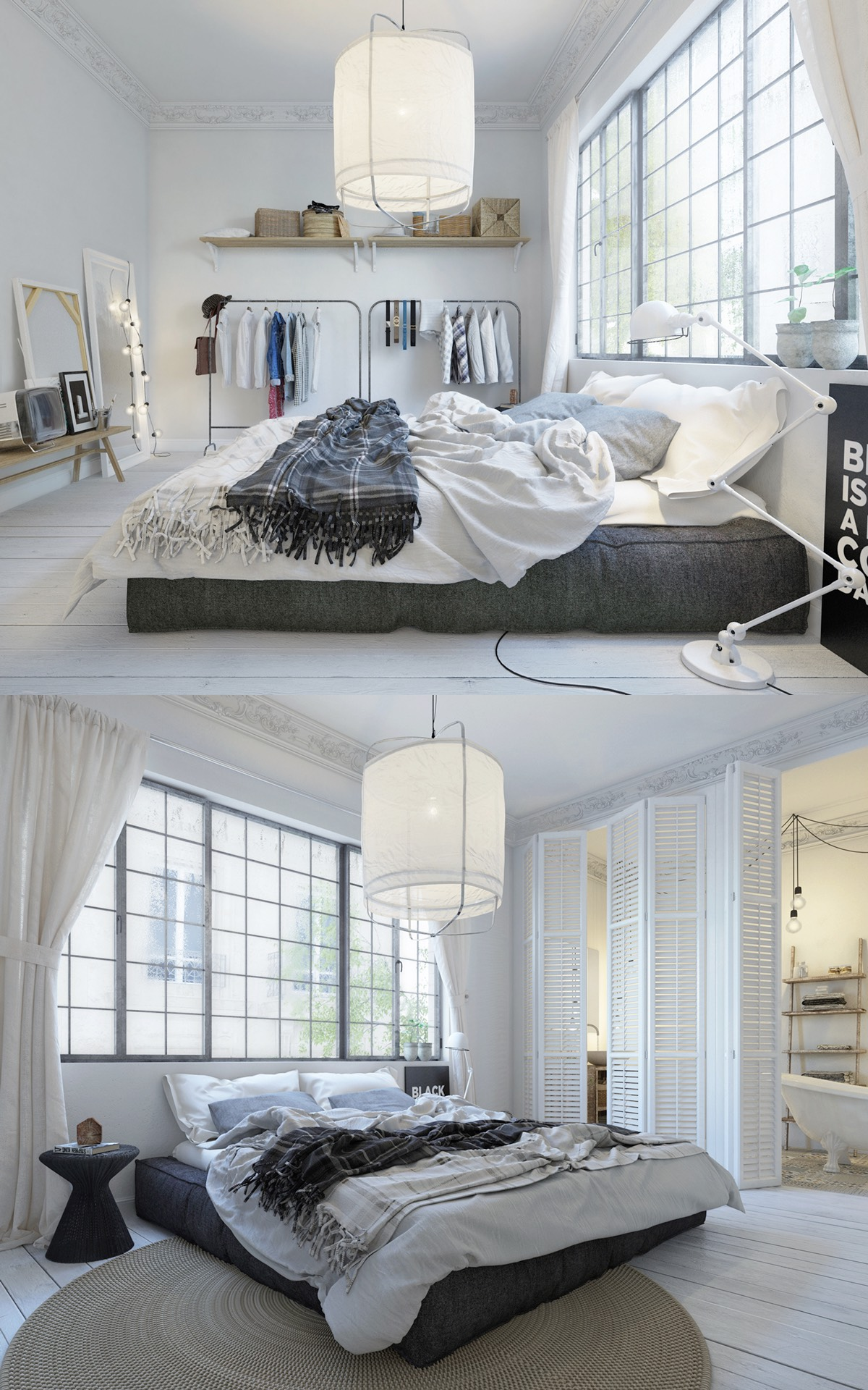 scandinavian bedrooms ideas and inspiration. Black Bedroom Furniture Sets. Home Design Ideas