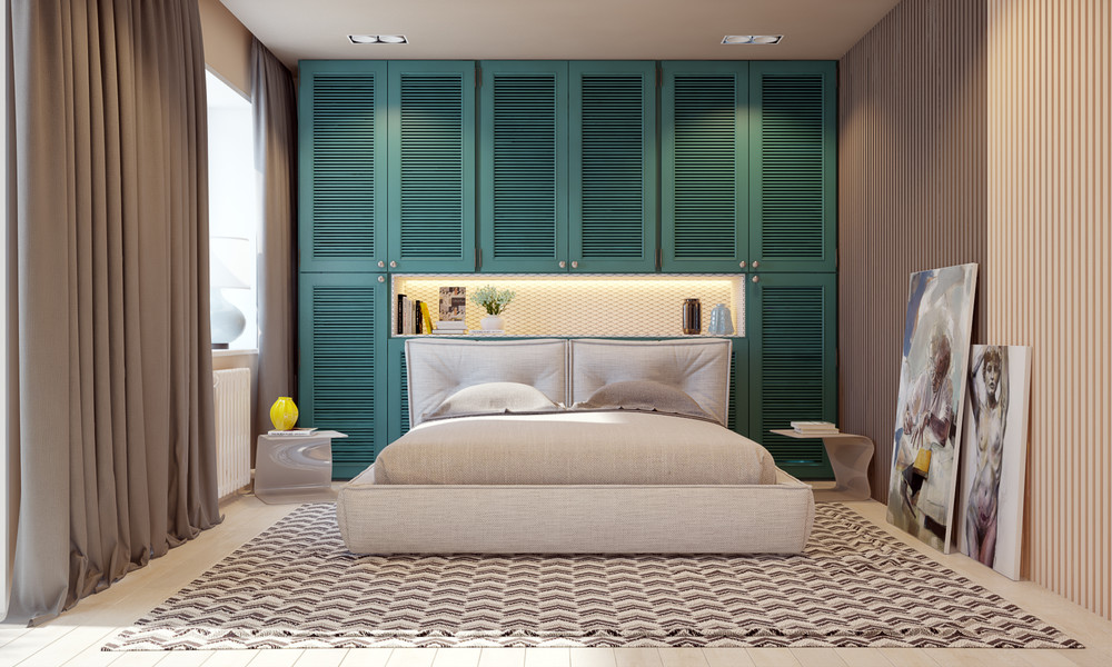 Teal And Brown Bedroom Inspiration - Playful ways to brighten neutral color themes
