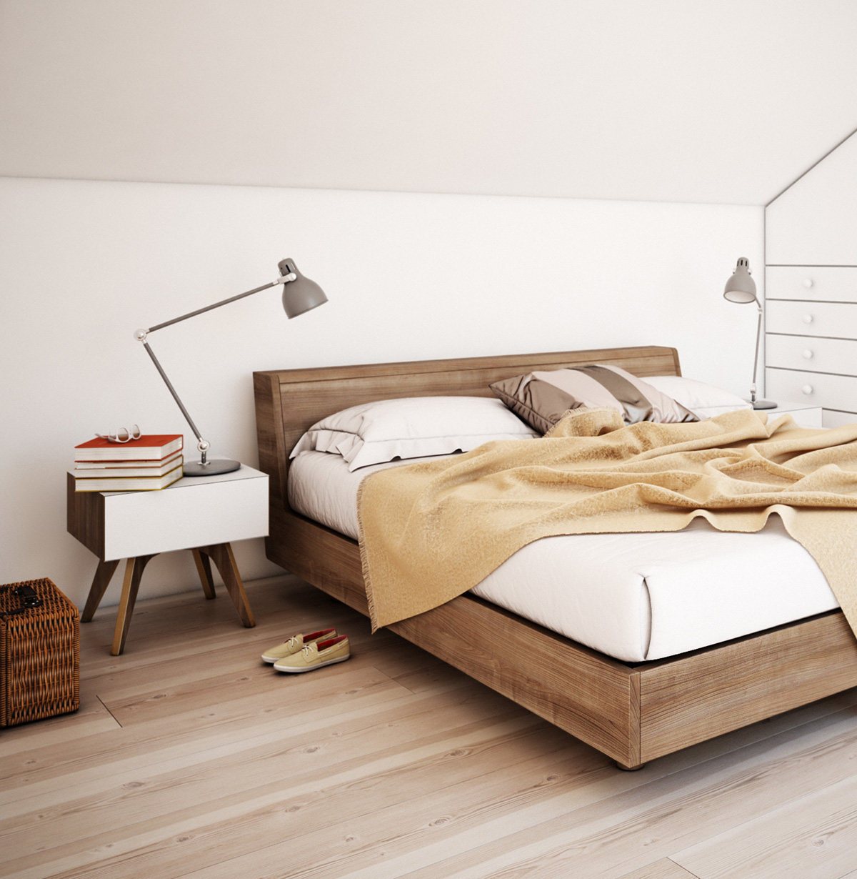 Wood And White Bedroom Design - 7 bedroom designs to inspire your next favorite style