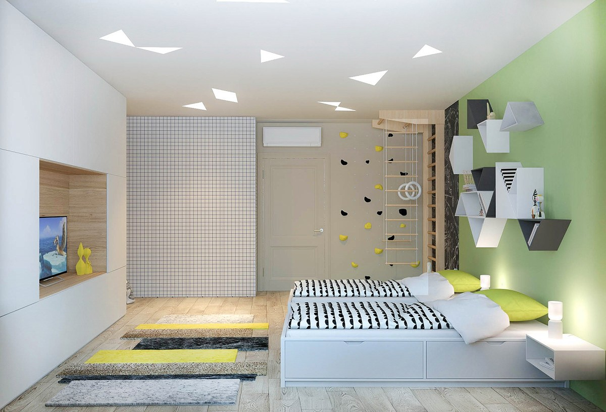 Kids room design for two kids - Kids Room Design For Two Kids 36