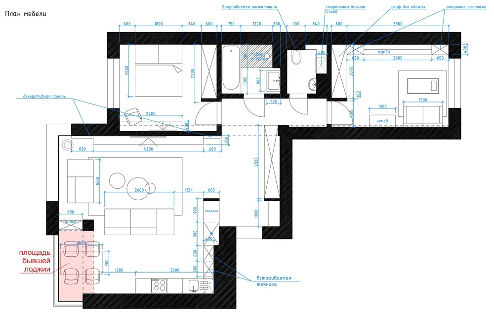 Apartment With Study Floor Plan - 5 ideas for a one bedroom apartment with study includes floor plans