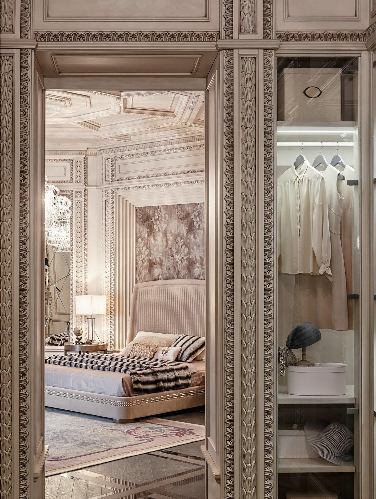 Art Deco Home neoclassical and art deco features in two luxurious interiors