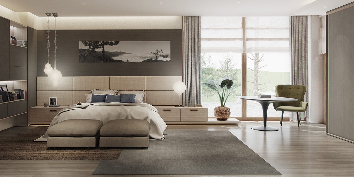 Bedroom With Natural Personality - 8 striking bedrooms with distinct personalities