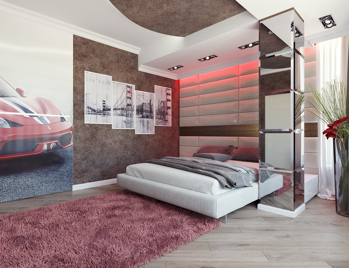 8 striking bedrooms with distinct personalities