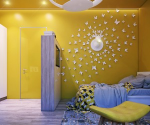 clever kids room wall decor ideas inspiration - Home Wall Interior Design