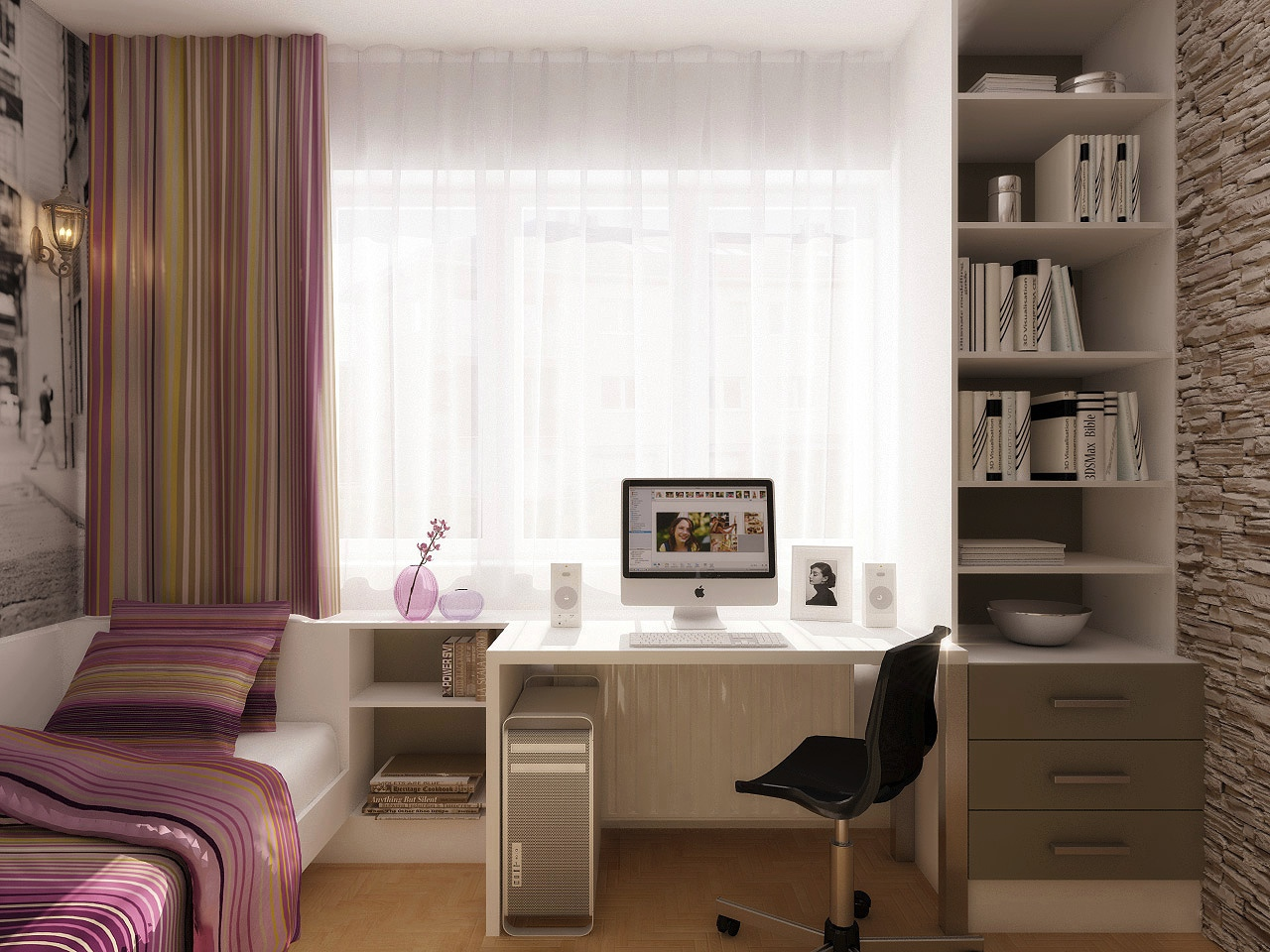Refresh Your Workspace With Ideas From These Inspiring Offices - Bedroom office design