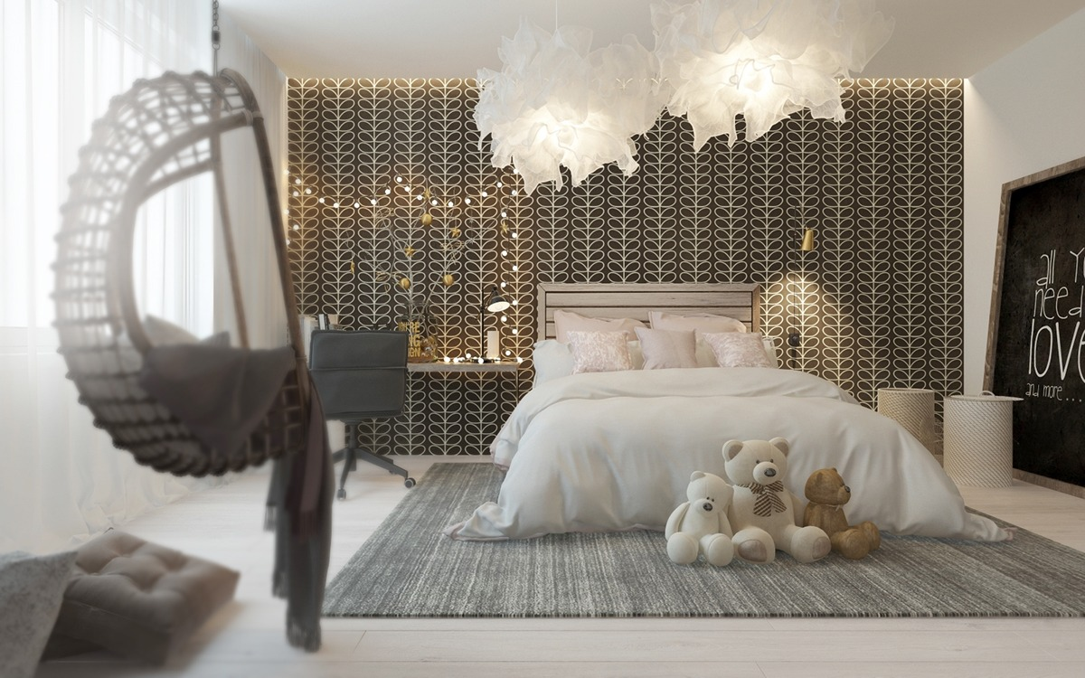 Sophisticated Bedroom A Pair Of Childrens Bedrooms With Sophisticated Themes