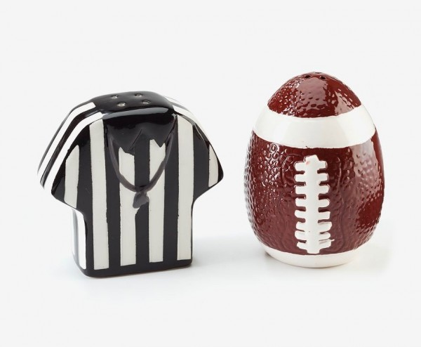Gridiron football fans can be fiercely loyal to their teams, so if you're a multi-team household it can make sense to opt for general accessories like this fun shaker.