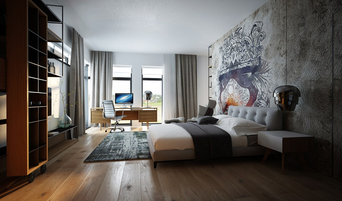 Affordable Luxury Homes Taking Different Approaches To Wall Art with
