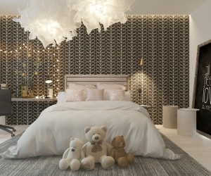 Colorful Kids Rooms · A Pair Of Childrens Bedrooms With Sophisticated  Themes ...