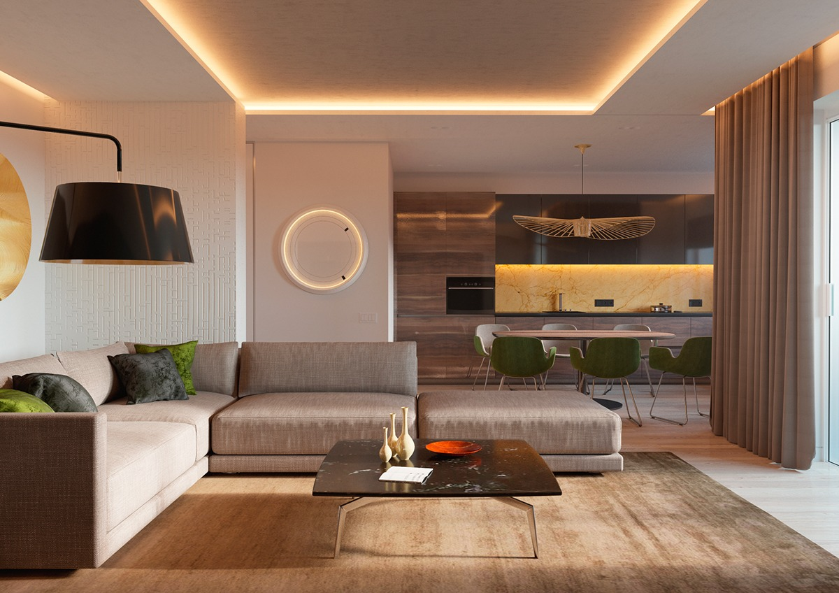 Sensational 5 Ideas For A One Bedroom Apartment With Study Includes Floor Plans Largest Home Design Picture Inspirations Pitcheantrous