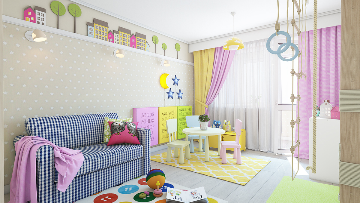 Wall Sconces For Children S Room : Clever Kids Room Wall Decor Ideas & Inspiration