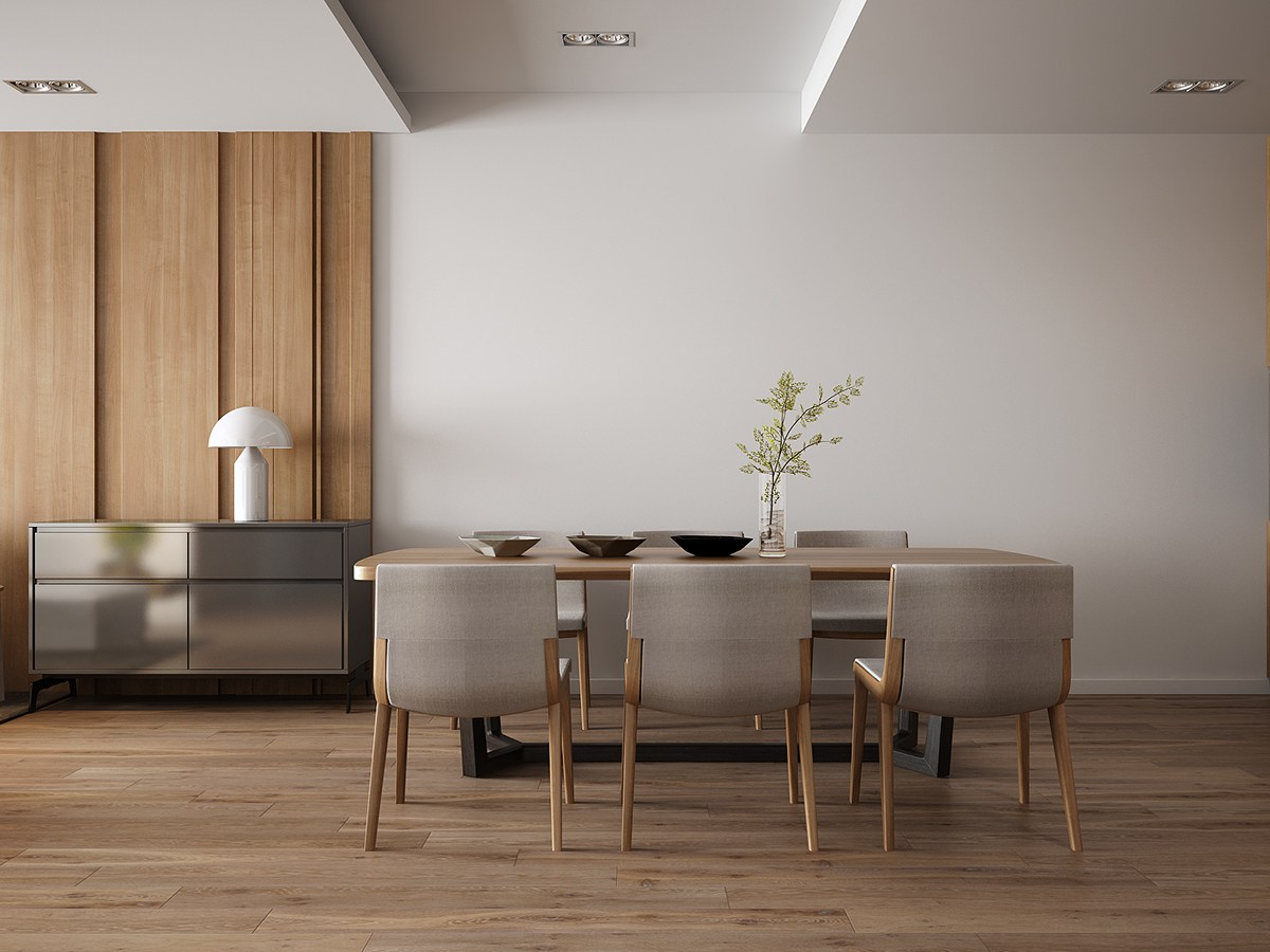 Dining Room Feature Wall Dining Room Feature Wall Carldrogocom Simple Wood And Gray Dining