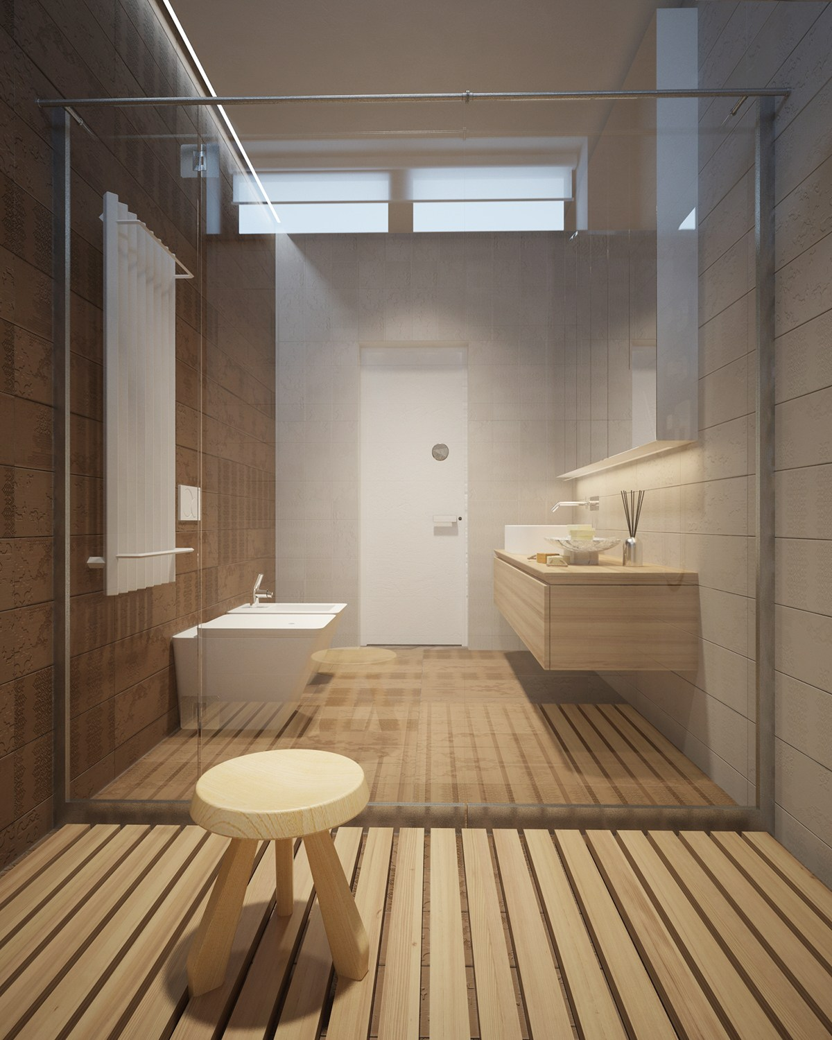 Wood Shower Floor WB Designs - Wood Shower Floor WB Designs