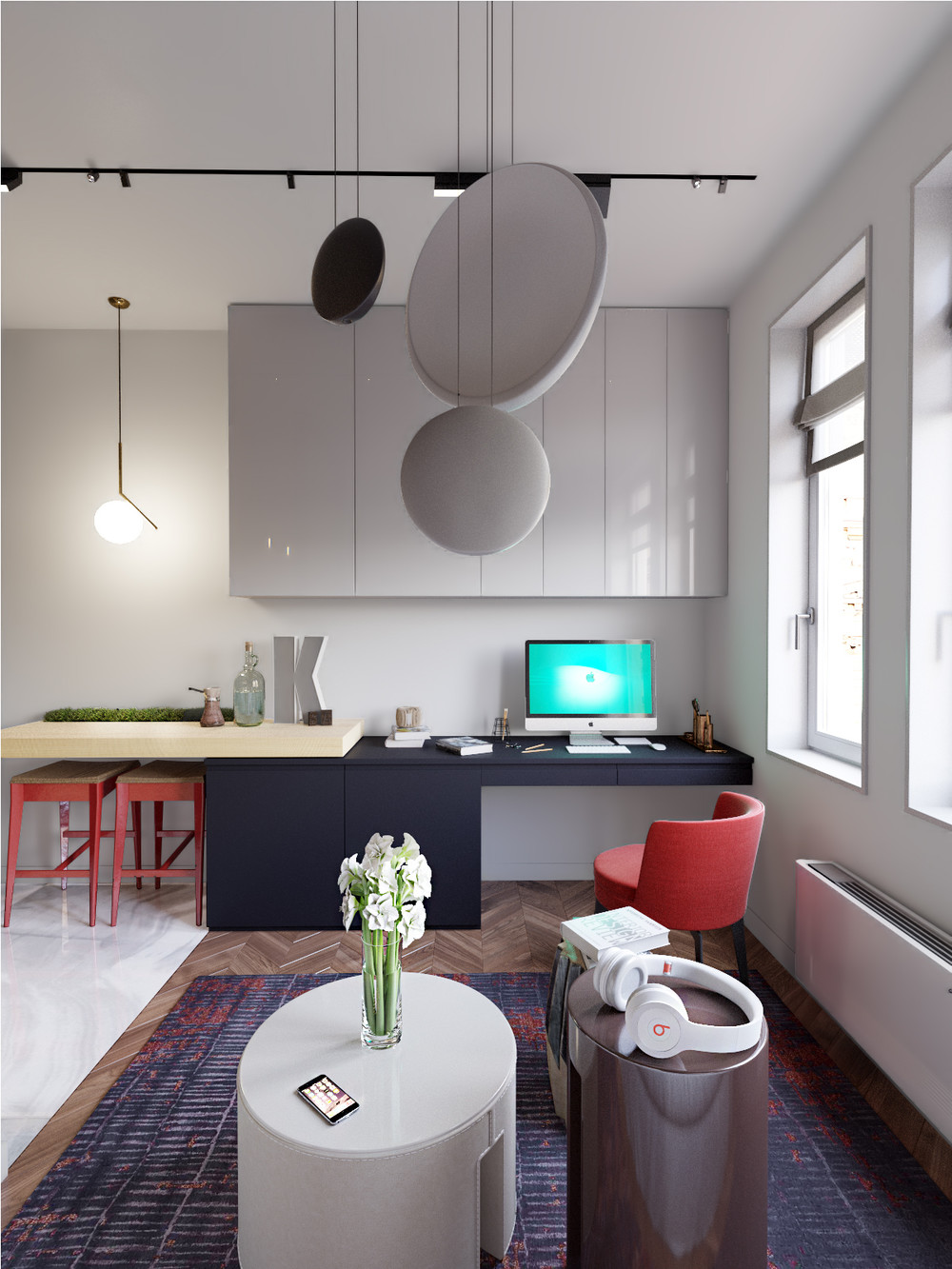 3 Small Spaces Packed With Big Style (Includes Floor Plans)