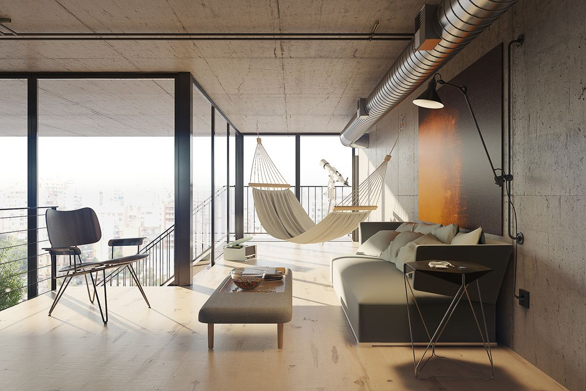 Lofts that are anything but industrial and stark - Loft industrial ...
