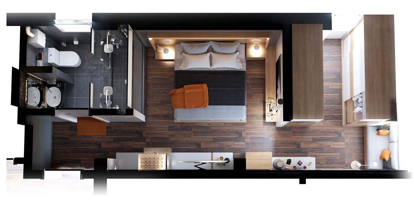 Master Bedroom Suite Layout 4 Luxury Bedrooms With Unique Wall Details