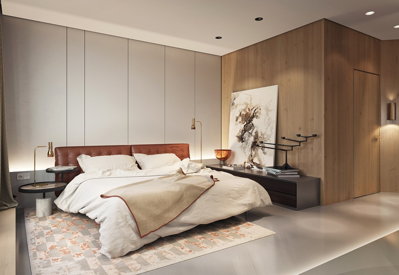 Luxurious inspiring penthouses for Expensive bedroom designs
