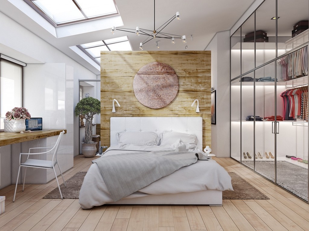 Beautiful Examples Of Bedrooms With Attached Wardrobes - Floor to ceiling bedroom furniture