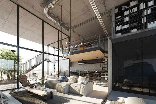 Lofts that are anything but industrial stark
