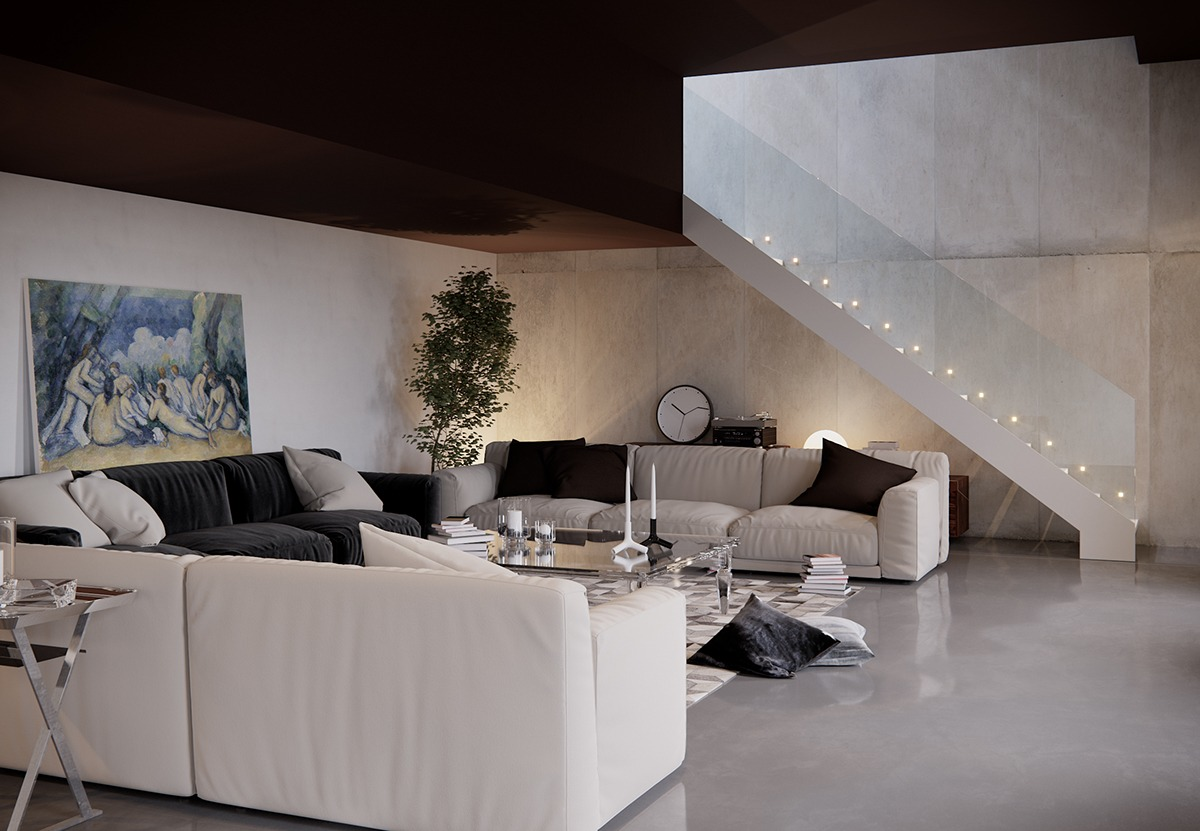 5 living rooms that demonstrate stylish modern design trends for Living room design styles