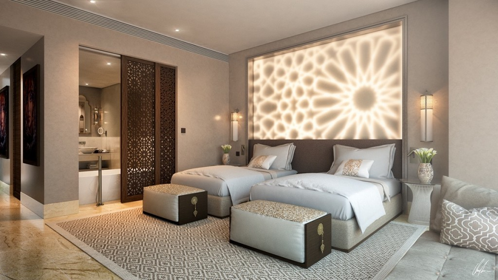 25 stunning bedroom lighting ideas for Bedroom designs light