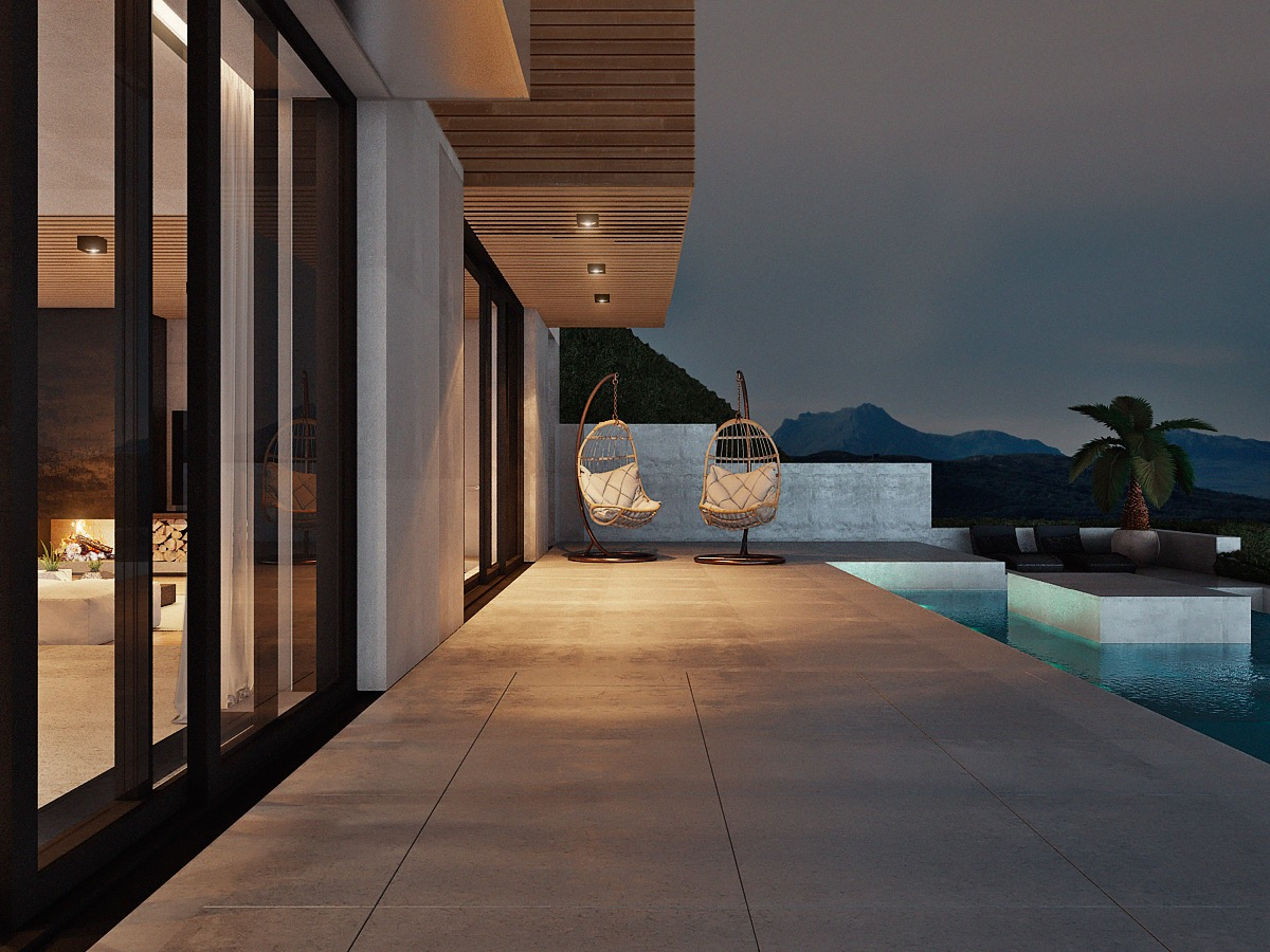 Coastal Pool Deck Ideas - Stunning costa rican house with a spectacular coastal view