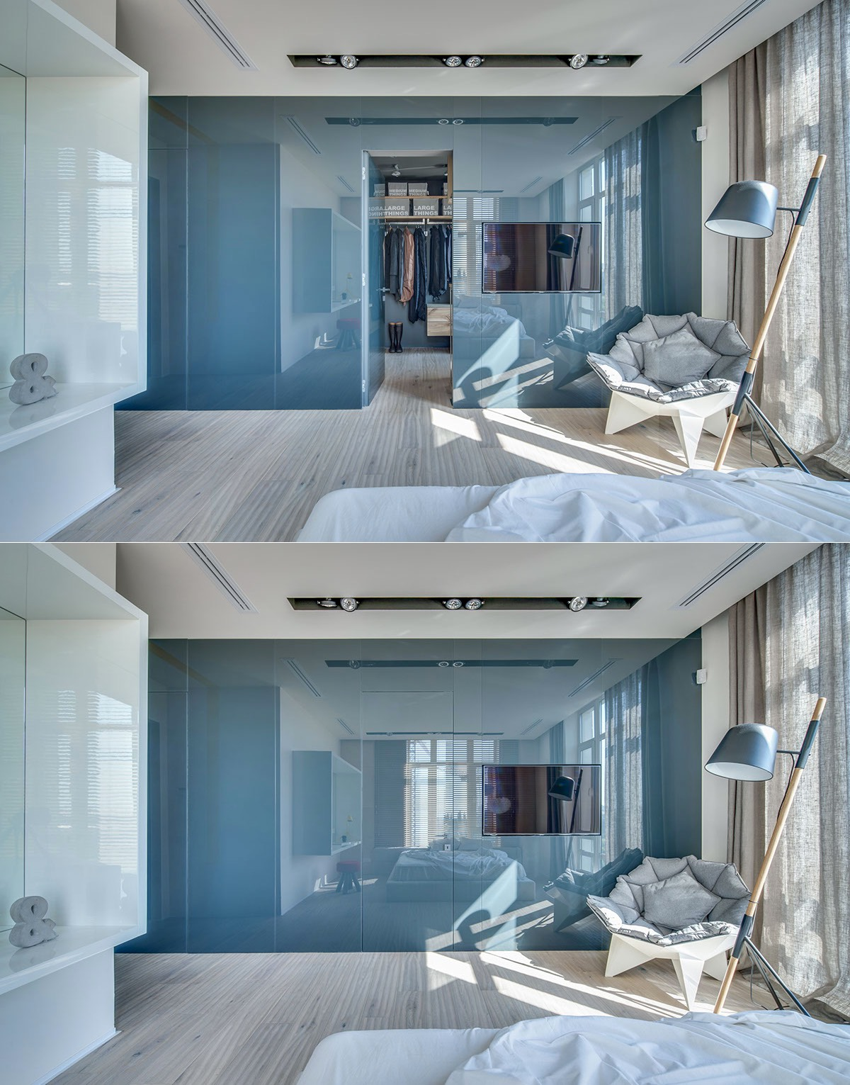 Gorgeous Walk In Closet Door Inspiration - 20 beautiful examples of bedrooms with attached wardrobes