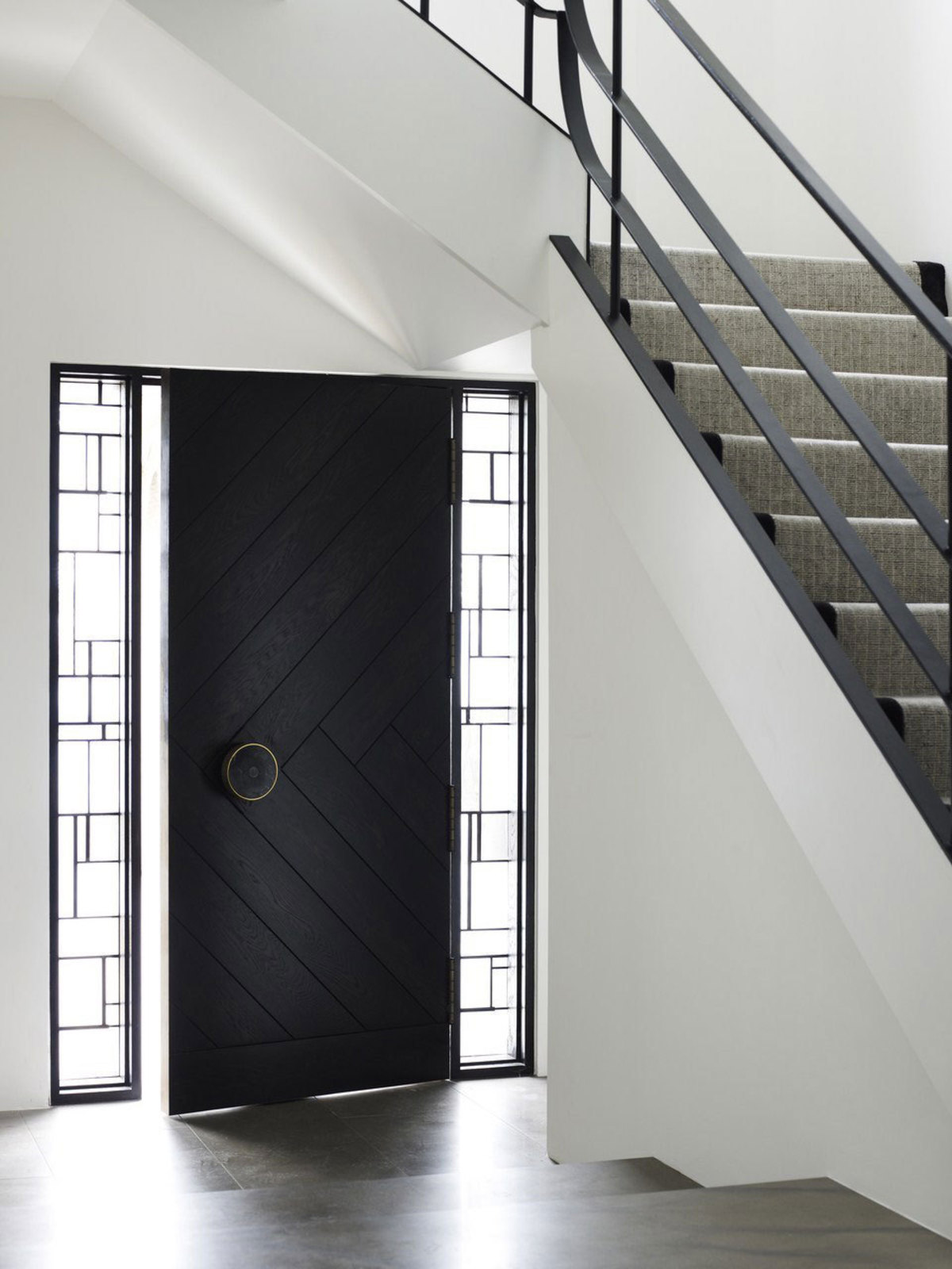 50 modern front door designs for Side doors for houses