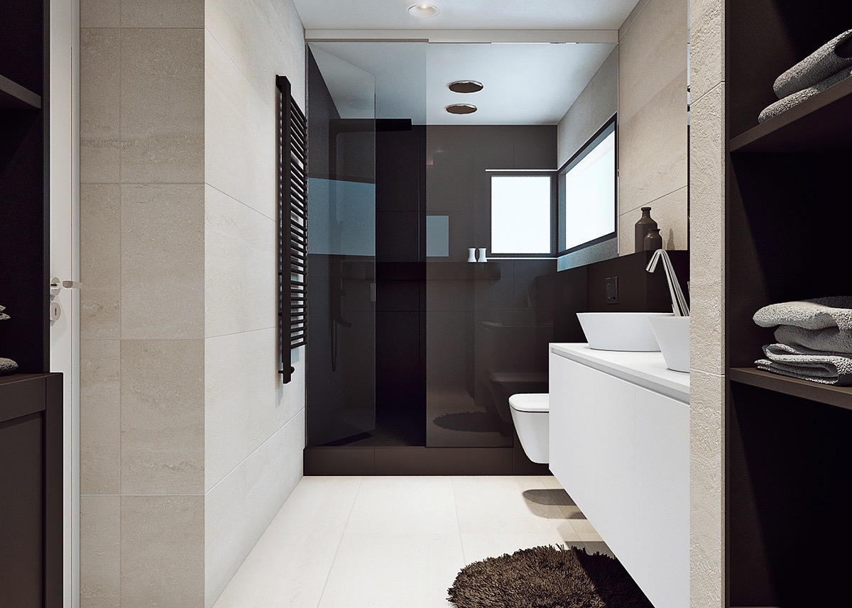 Matte Black Shower Design - Stunning costa rican house with a spectacular coastal view