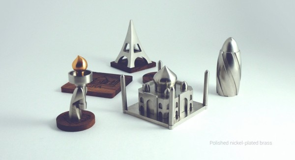 Jsouv a beautifully minimalist souvenir set depicting architectural landmarks 04 01 2016 related posts