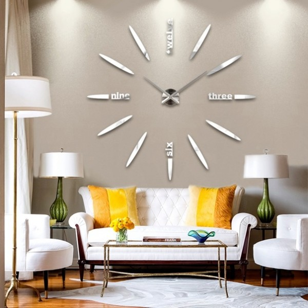 cute kitchen clocks wall large modern - Designer Kitchen Wall Clocks