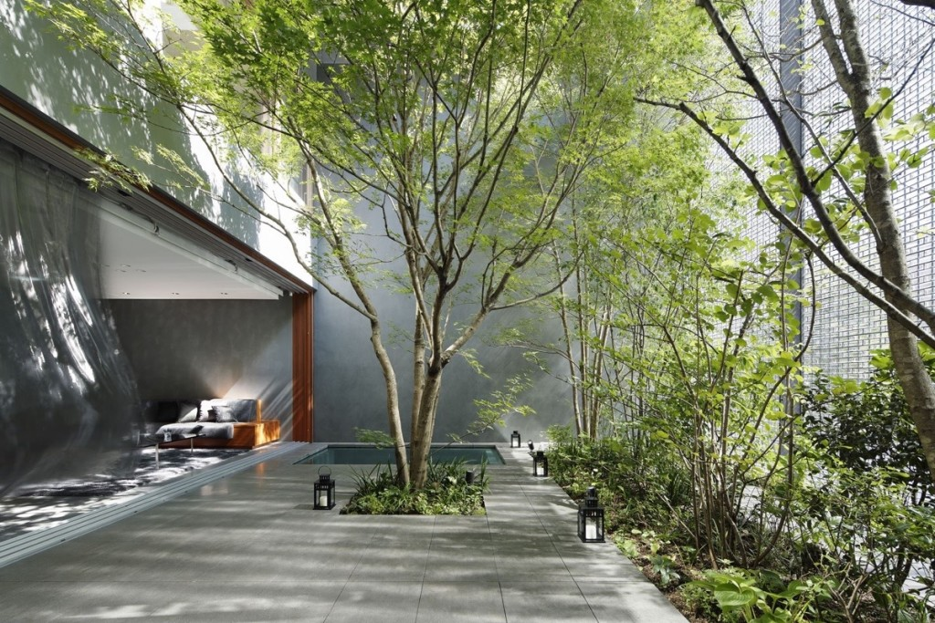 Japan Interior Design Ideas : modern private courtyard inspiration 1024x683 from www.home-designing.com size 1024 x 683 jpeg 284kB