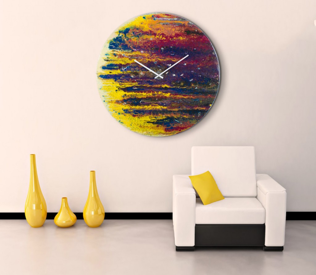 Decorative Wall Clocks For Living Room 30 Large Wall Clocks That Dont Compromise On Style