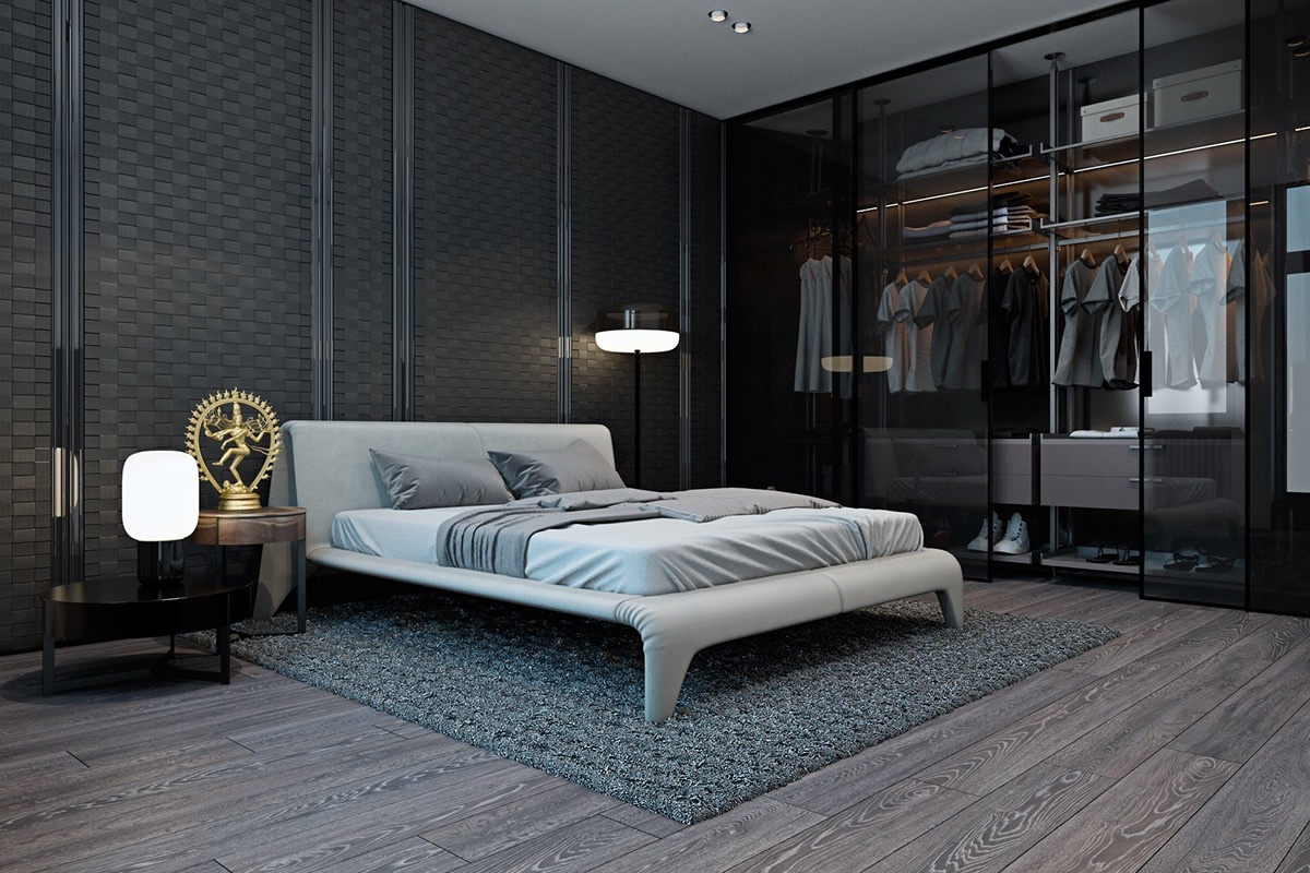 Sophisticated Walk In Closet Design - 20 beautiful examples of bedrooms with attached wardrobes