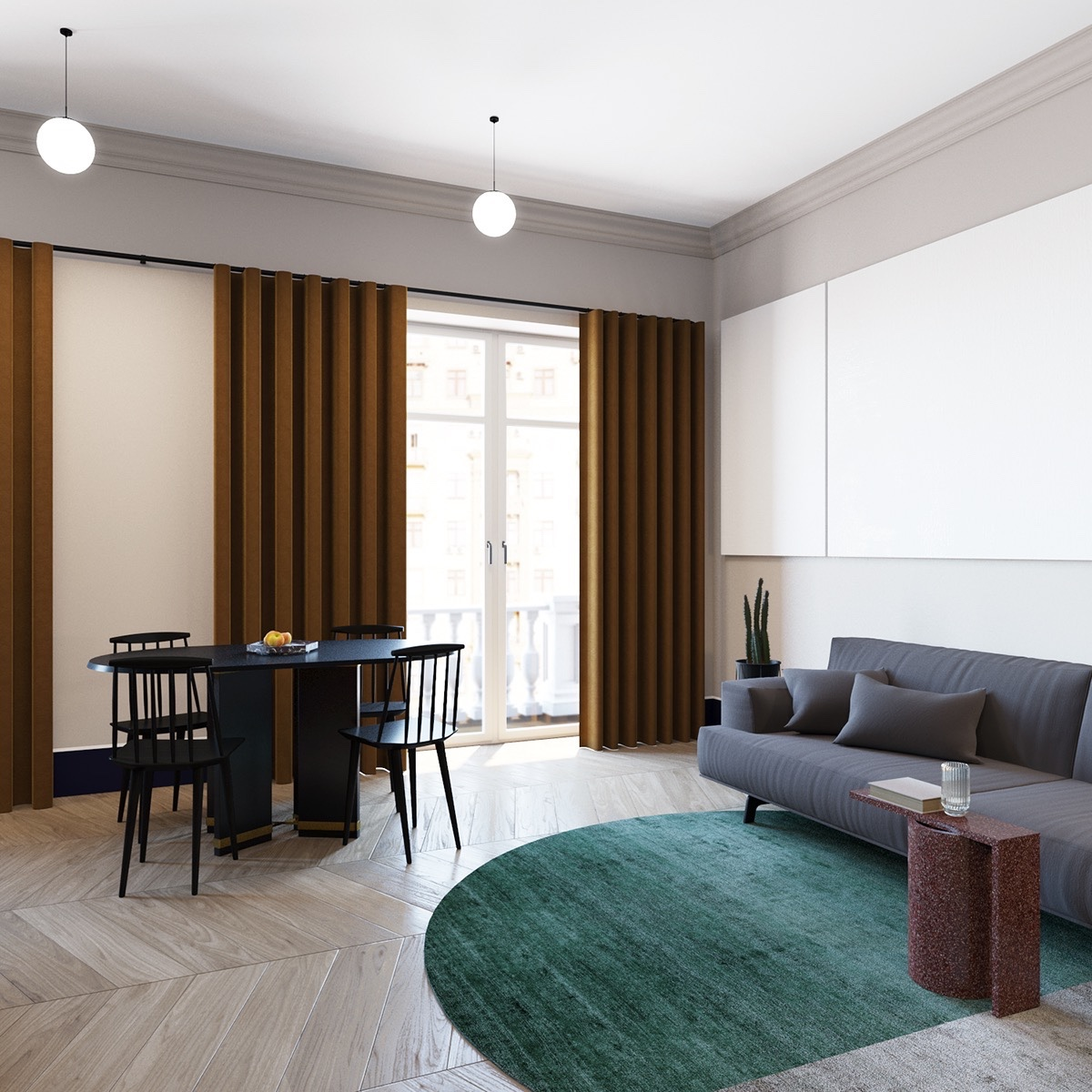Apartment Design 600 Square Feet 2 well-rounded home designs under 600 square feet (includes layout)