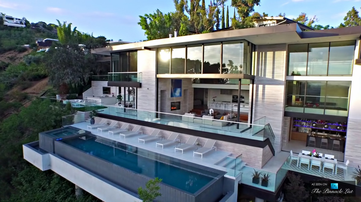 Hollywood Hills Luxury Home Million