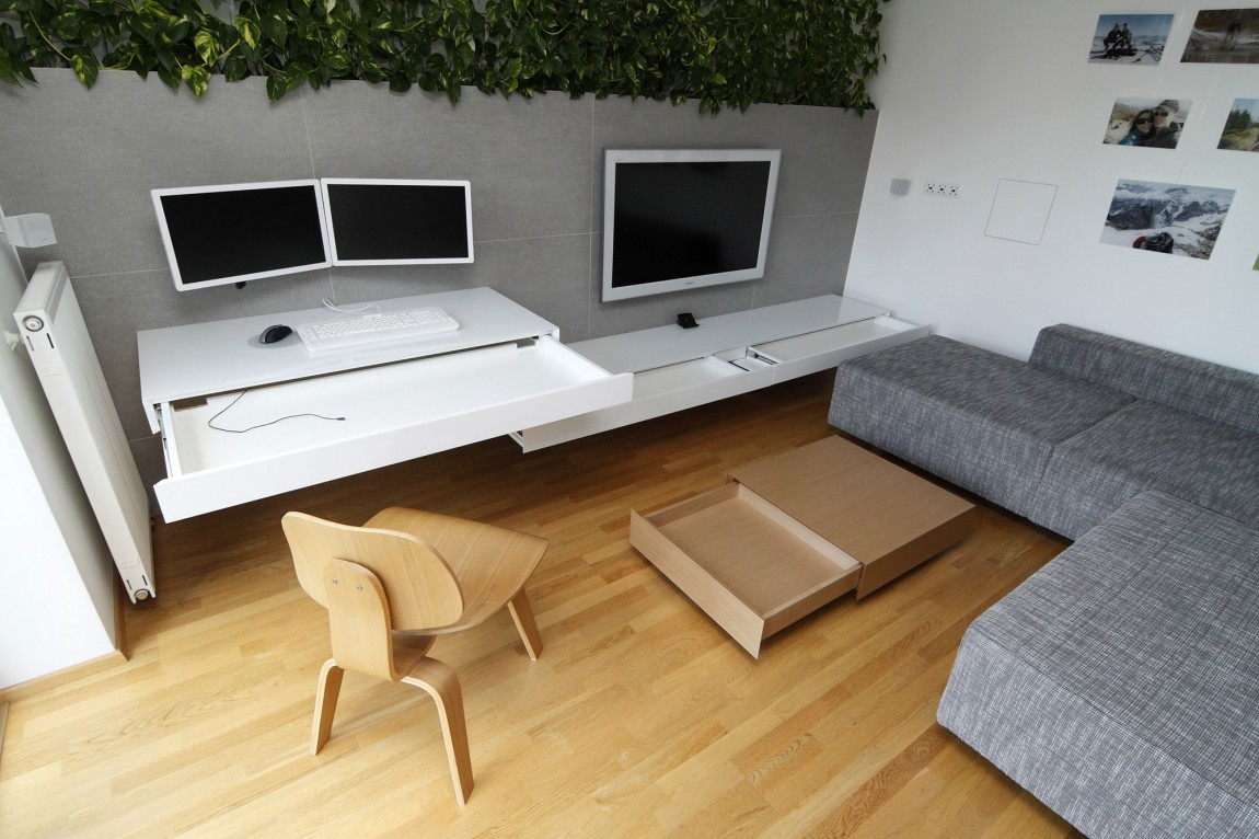 Ultra Modern Space With Organic Touch - Indoor plant inspiration to transform your space